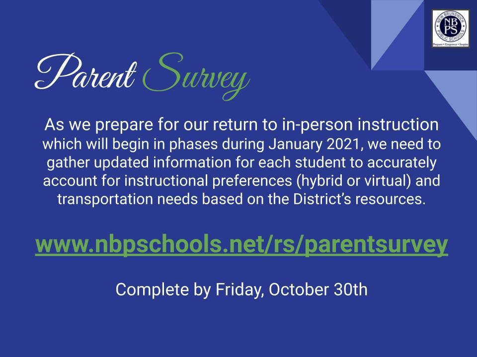 Roosevelt Parent Survey