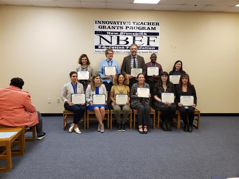 Woodrow Teachers honored by the NBEF