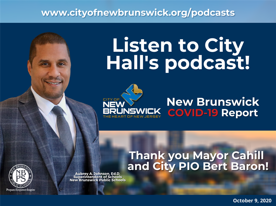 New Brunswick COVID-19 News podcast hosted by Bert Baron