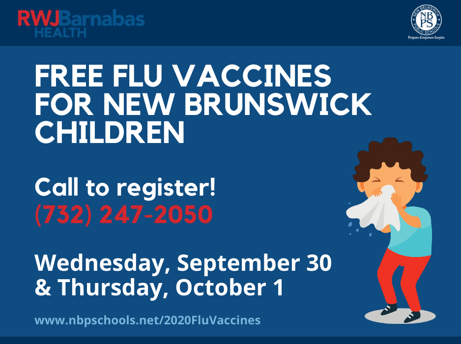 Flu Vaccines for New Brunswick Children